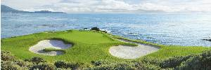 Pebble Beach 7th by Drickey THUMBNAIL
