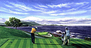 "Pebble Beach ""Knock Down""  by Harris"