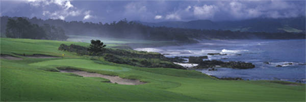 Pebble Beach 8th by Drickey