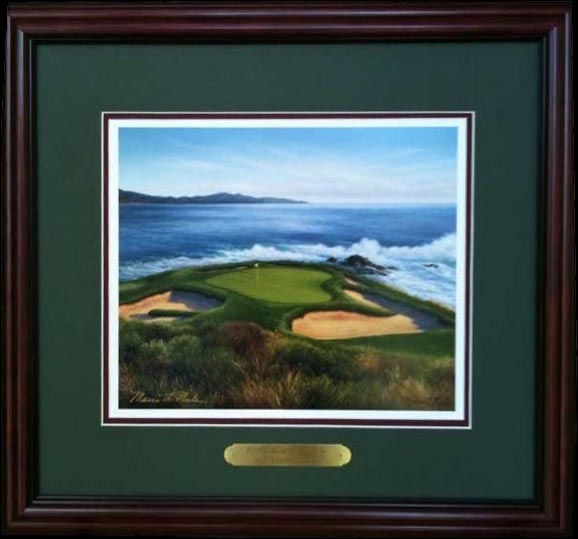 Pebble Beach 7th by Rule