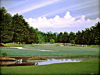 Pinehurst  #2 16th by Griff