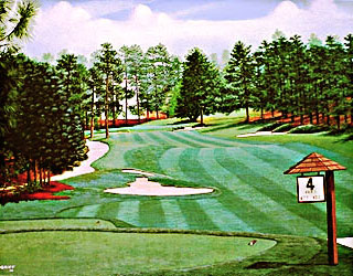 Pinehurst #2 4th by Griff