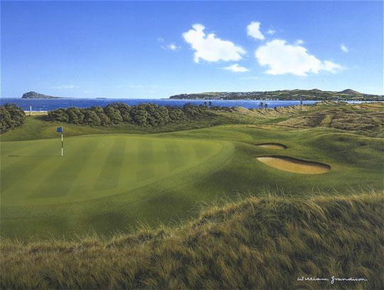 Portmarnock 15th by Grandison