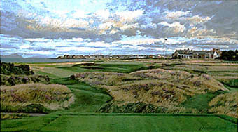 Royal Troon 17th by Hartough THUMBNAIL