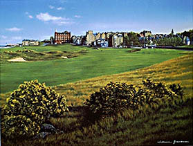 St. Andrews 17th by Grandison