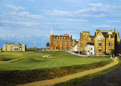 St. Andrews , Road Hole by Chorley _THUMBNAIL
