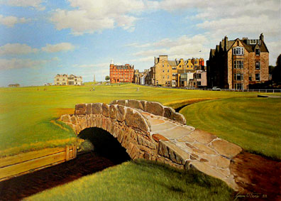 Swilcan Bridge by Baxter THUMBNAIL