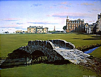 St. Andrews  Swilcan Bridge by Grandison THUMBNAIL