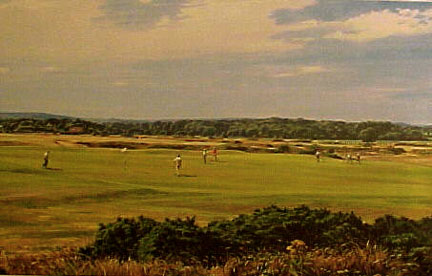 The Old Course, St. Andrews by Weaver