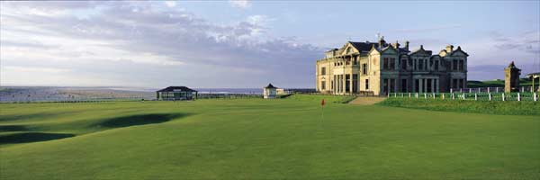 St Andrews 18th by Drickey
