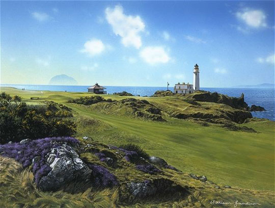 Turnberry w/ Ailsa Craig by Grandison THUMBNAIL
