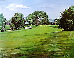 Winged Foot 18th by Radler