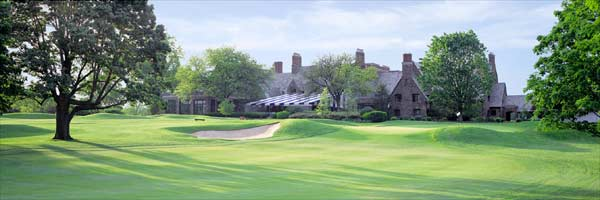 Winged Foot 18th by Drickey