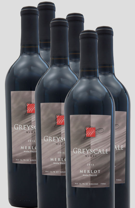CLOSEOUT -  '14 Napa Valley Merlot 6-Pack LARGE