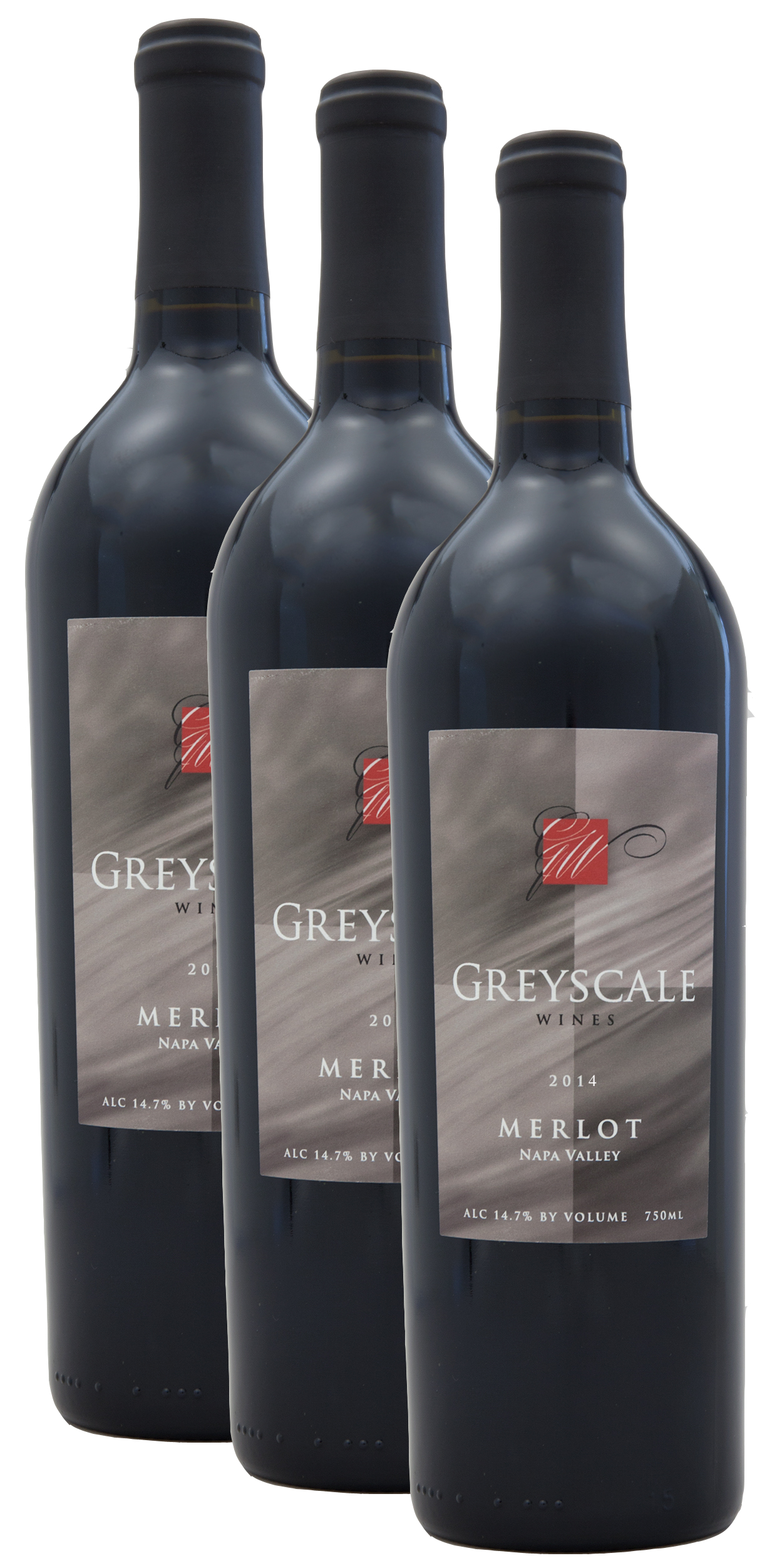 2014 Napa Valley Merlot - Berserker Closeout - 3 pack LARGE