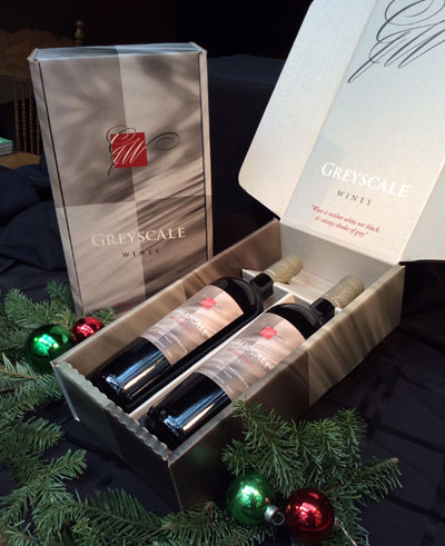 """All Red"" Gift Pack<br>1 Cabernet & 1 Merlot"