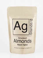 Ag Standard Ranch Spice Smoked Almonds 4 oz.