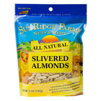 Sunridge Slivered Almonds, 5oz.