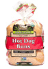Alpine Valley Organic Whole Wheat Hotdog Buns, 6pk