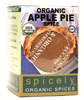 ORGANIC SEASONING APPLE PIE SPICE, 0.4 oz.