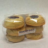 Broadway Baker Lemon Raspberry Shortbread, 6 oz.