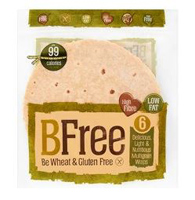 BFree GF Multigrain Wraps, 6 count