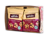 Back to Nature Mini Chocolate Chunk Cookies, 6 - 1.25oz.