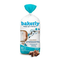 Bakerly Chocolate Croissants, 6 pack