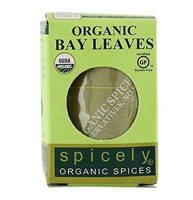 ORGANIC BAY LEAVES TURKISH WHOLE, 0.1oz.
