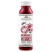 Bonafide Provisions Glow Drinkable Veggies with Bone Broth, 12oz.