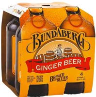 Bundaberg Ginger Beer 4 pack_THUMBNAIL