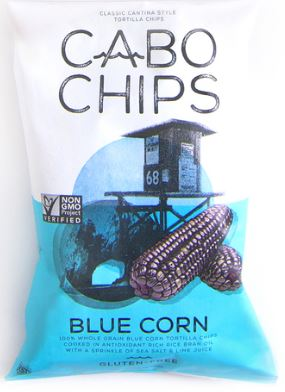 Cabo Chips Organic Blue Corn Tortilla Chips, 5.5oz.