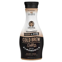 Califia Black & White Cold Brew Coffee w/Almondmilk, 48oz_THUMBNAIL