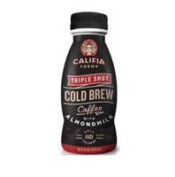 Califia Triple Shot Cold Brew Coffee w/Almondmilk, 10.5 oz_THUMBNAIL