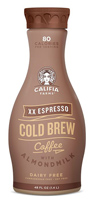 Califia Double Espresso Cold Brew Coffee w/Almondmilk, 48oz