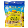 Sunridge Roasted & Salted Cashews, 6oz.