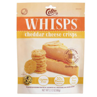 Cello Whisps Cheddar Cheese Crisps, 2.12 oz.