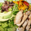 * Grilled Chicken Fajita Salad