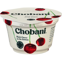 Chobani Black Cherry Greek Yogurt, 5.3oz