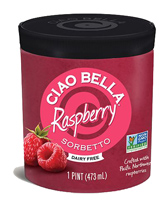 Ciao Bella Raspberry Sorbet, 1 Pint