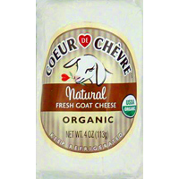 Organic Coeur de Chevre Goat Cheese, 4oz