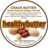 HealthyButter Crack Butter, 12oz.
