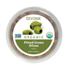 Divina Organic Pitted Green Olives, 5oz.