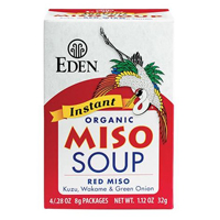Eden Organic Instant Red Miso Soup, 4 pack