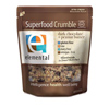 Elemental Raw Dark Chocolate+Peanut Butter Crumble, 8oz