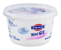 Fage 0% Greek Yogurt, 17.6oz
