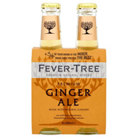 Fever Tree Premium Ginger Ale, 4 pack_THUMBNAIL