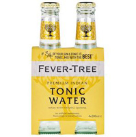 Fever Tree Premium Indian Tonic Water, 4 pack_THUMBNAIL