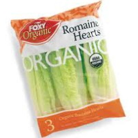 Organic Romaine Hearts, 3pk. Bag