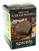 ORGANIC SEASONING GARAM MASALA , 0.5oz.
